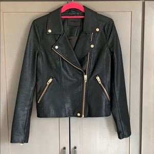 Blank NYC Vegan Leather Moto Jacket